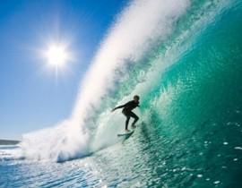 Surfing in Baler Philippines