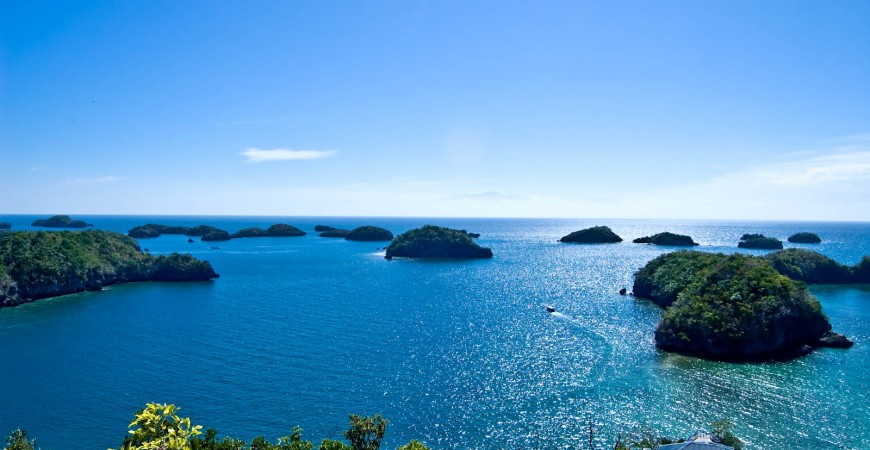 Take in the View of a Hundred Islands