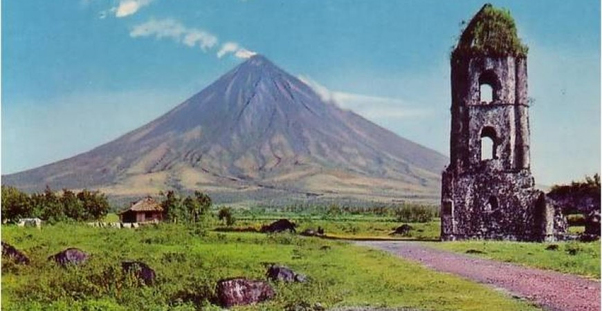 Feast Your Eyes on a Perfectly Coned Mayon Volcano