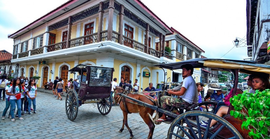 Head Towards the Hispanic Town of Vigan
