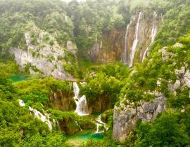 Travelling to Croatia's Plitvice National Park and Slovenia's Lake Bled