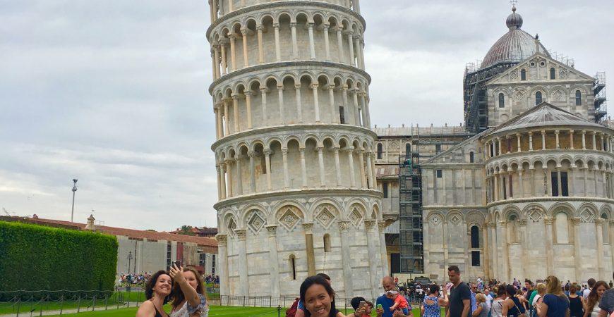 Travelling to Venice, Verona, Florence, Pisa, Milan Italy