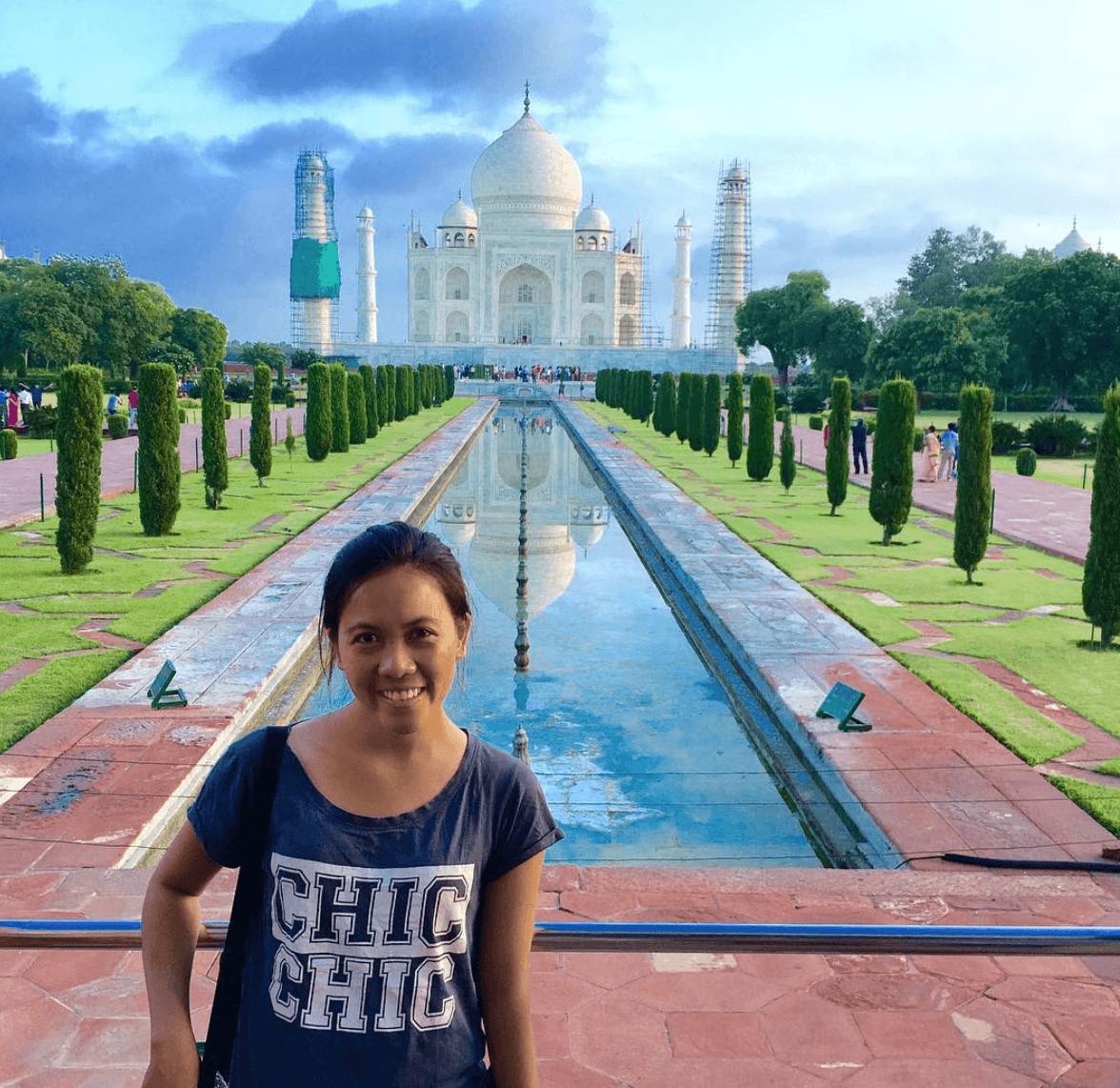 Shy @ Taj Mahal India